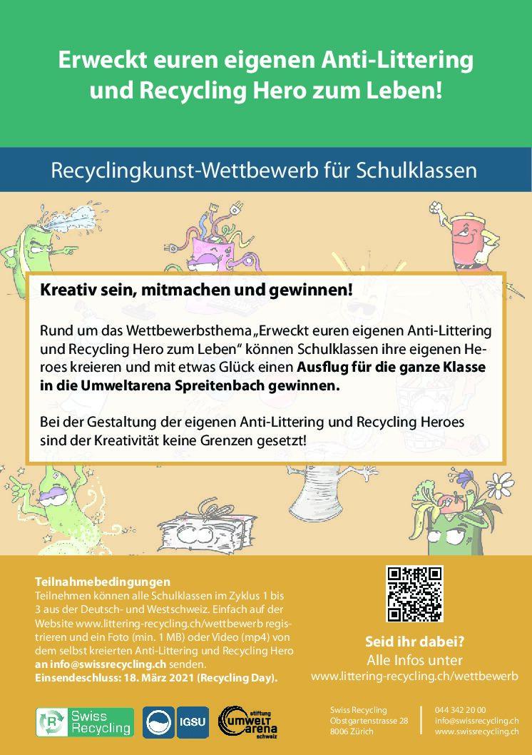 Flyer_Schulchallenge_Recyclingday